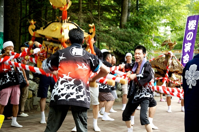 旧軽井沢夏祭り03