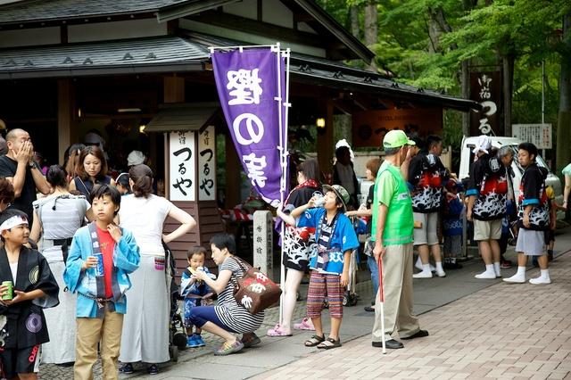 旧軽井沢夏祭り05