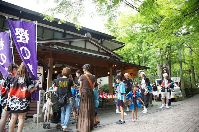 旧軽井沢夏祭り07