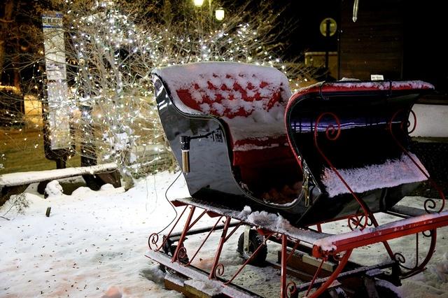 旧軽井沢ロータリーのクリスマス04
