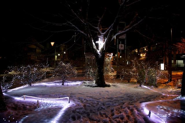 旧軽井沢ロータリーのクリスマス03