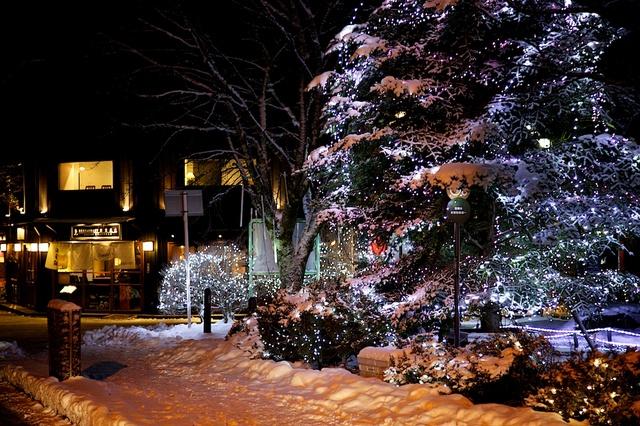 旧軽井沢ロータリーのクリスマス05