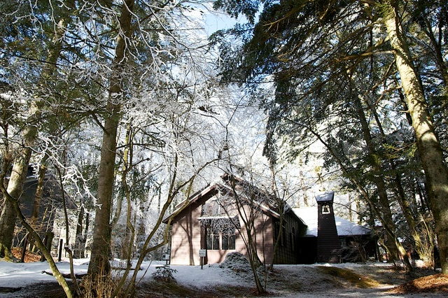 冬のショー記念礼拝堂