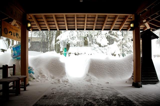 軽井沢観測史上初大雪07
