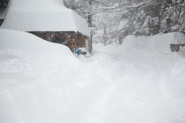軽井沢観測史上初大雪01