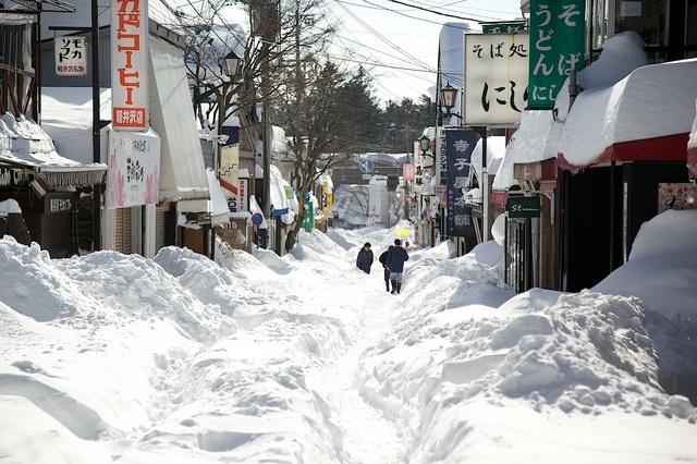 軽井沢の大雪01