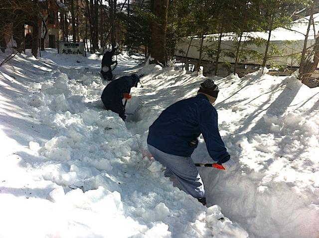 大雪から3日目01