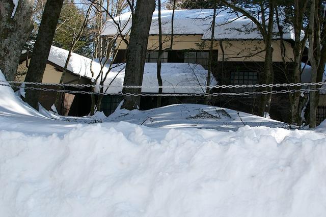 軽井沢、大雪から4日目03