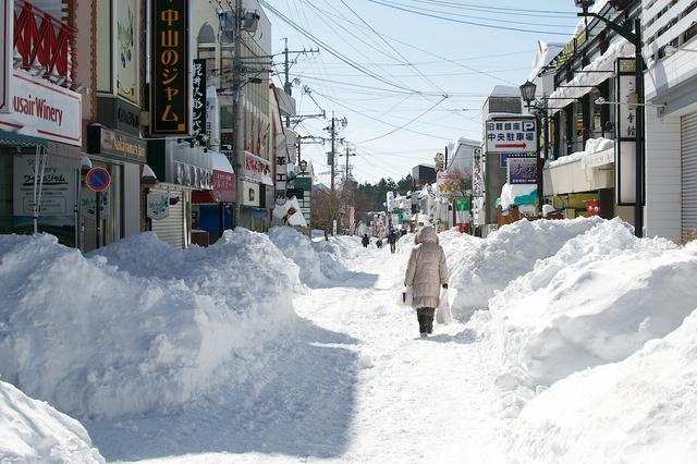 軽井沢、大雪から4日目05