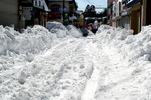 軽井沢、大雪から4日目06