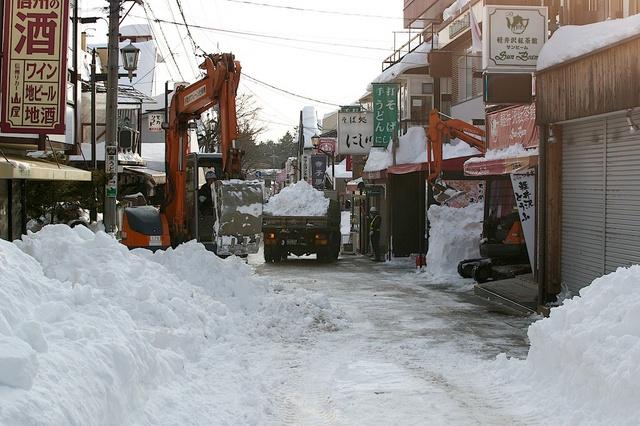 軽井沢大雪から6日目01