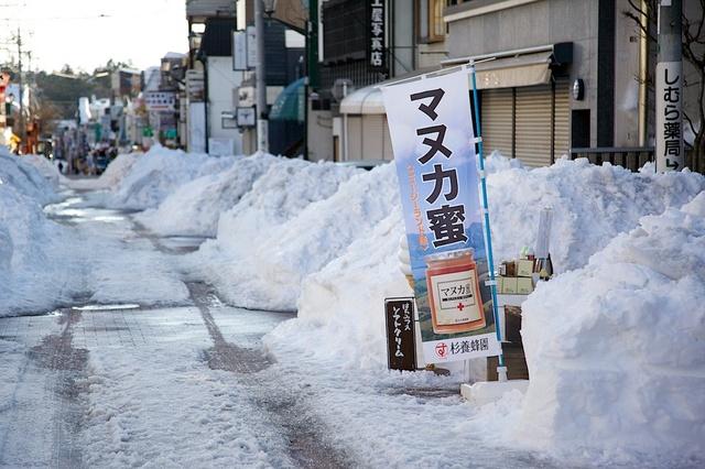 雪の街、軽井沢03