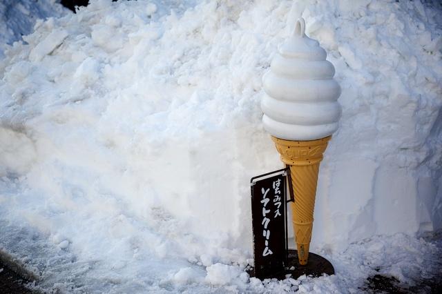 雪の街、軽井沢04