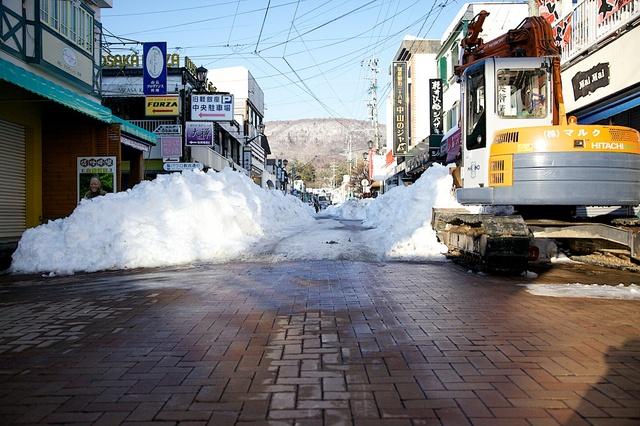雪の街、軽井沢05
