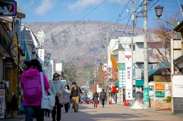 春が近づいてきた旧軽井沢