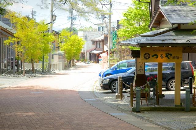 五月晴れが気持ちのよい軽井沢