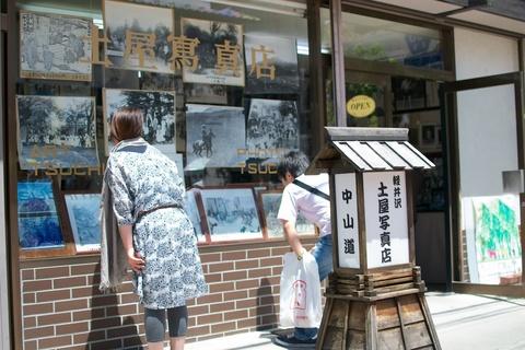 軽井沢宿から坂本宿まで中山道を歩く 第1回:旧軽銀座から吊り橋まで03