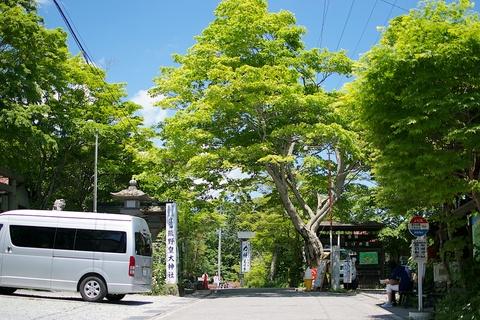 軽井沢宿から坂本宿まで中山道32