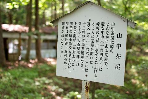 軽井沢宿から坂本宿まで中山道61