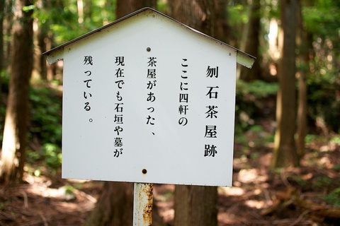 軽井沢宿から坂本宿まで中山道80