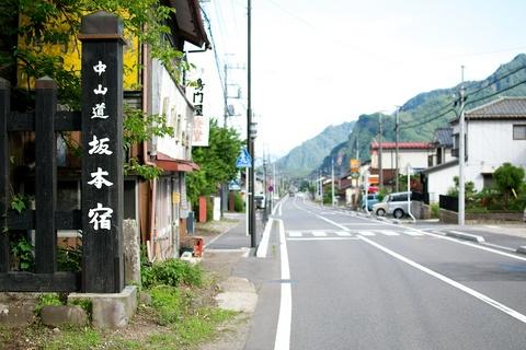 軽井沢宿から坂本宿まで中山道97