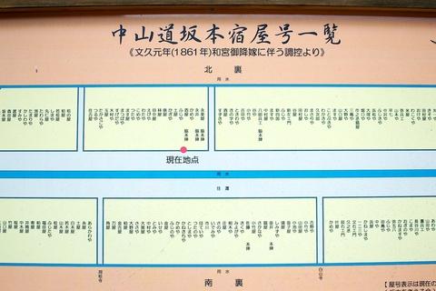 軽井沢宿から坂本宿まで中山道101