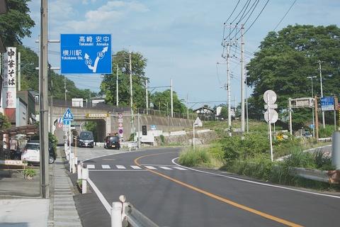 軽井沢宿から坂本宿まで中山道104