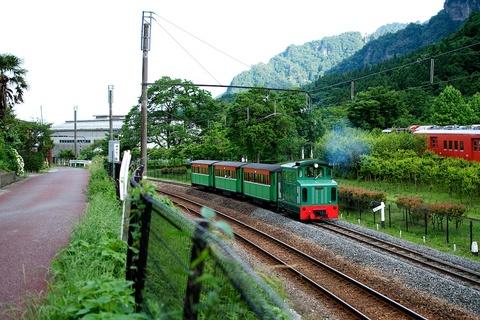 軽井沢宿から坂本宿まで中山道110
