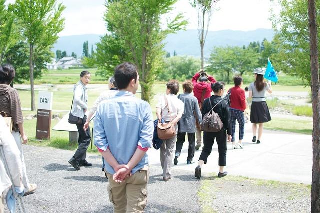 安曇野と松本への研修旅行01