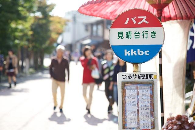 旧軽井沢赤いバス01