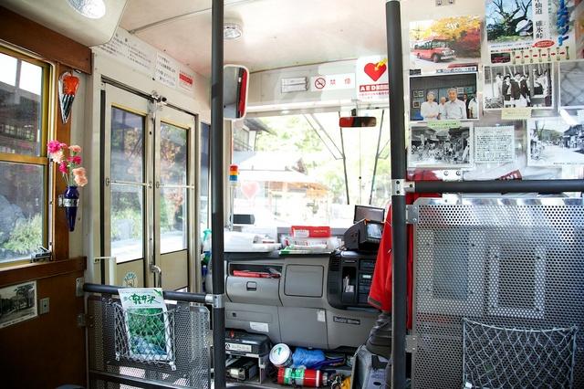 旧軽井沢赤いバス04