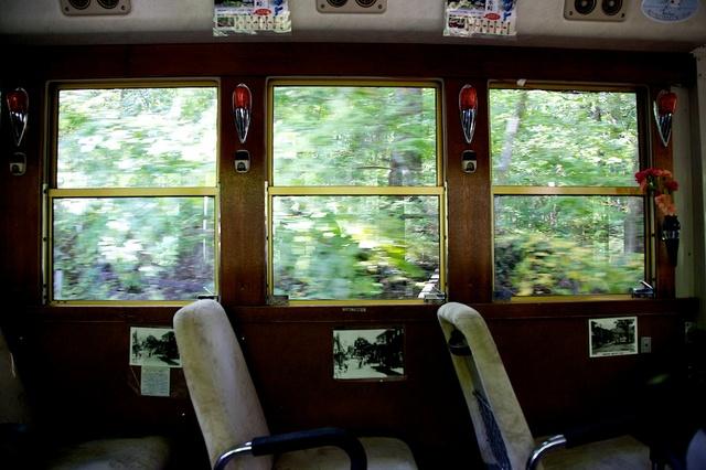 旧軽井沢赤いバス07