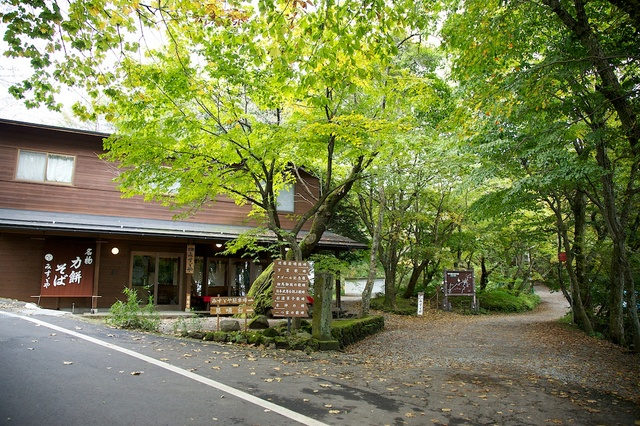 旧軽井沢赤いバス11