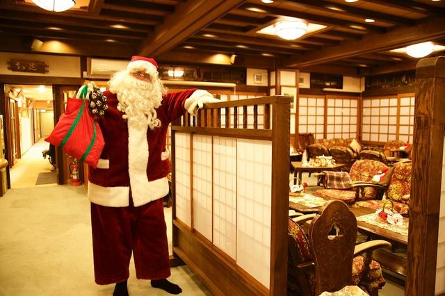 サンタが旅館にやってきた01