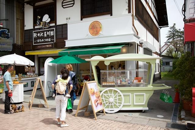 旧軽井沢春の新店舗01