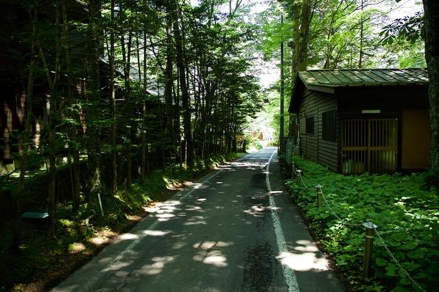 軽井沢散策水車の道05