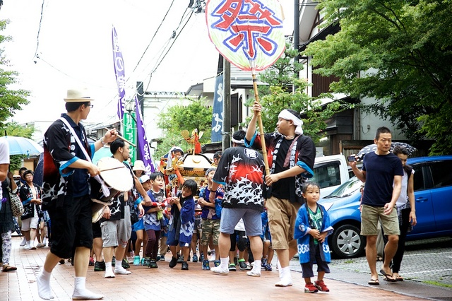 旧軽井沢子ども神輿01