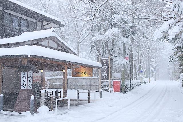 軽井沢の雪01